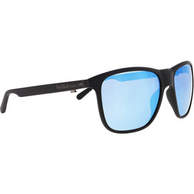 Red Bull SPECT Reach Sunglasses Men, matt black/smoke-ice blue mirror